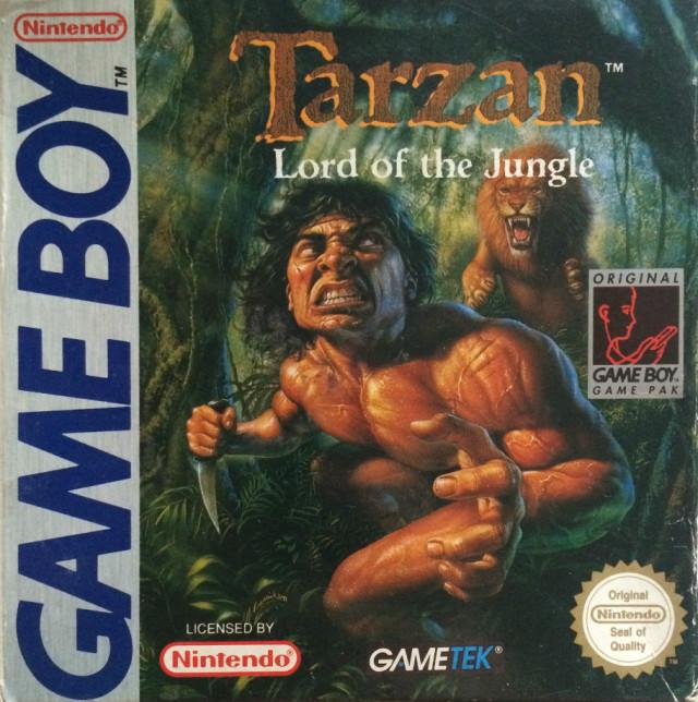 Tarzan Lord Of The Jungle Game Boy