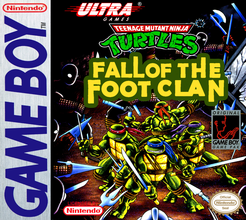 Teenage Mutant Ninja Turtles Game Boy