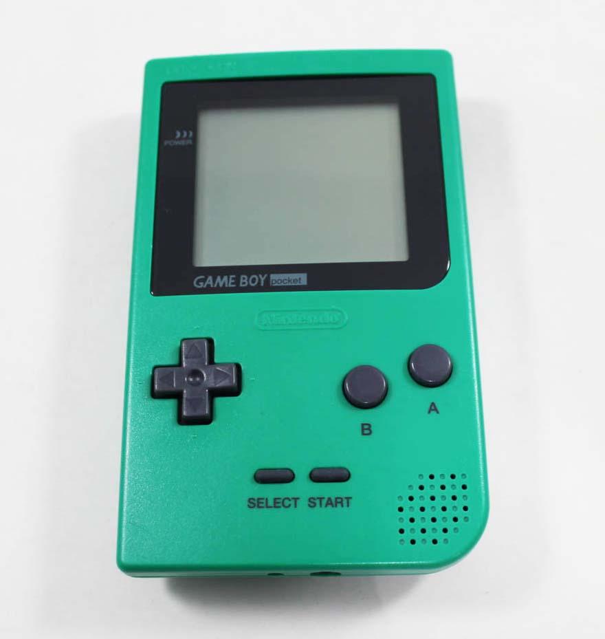 Nintendo Game Boy Pocket Green System