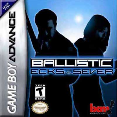 Ballistic Ecks vs Sever Nintendo Game Boy Advance