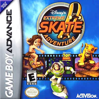 Disney S Extreme Skate Adventure Nintendo Game Boy Advance