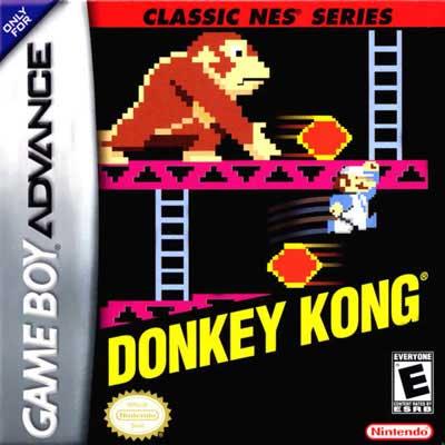 donkey kong nes series nintendo game boy advance. Black Bedroom Furniture Sets. Home Design Ideas