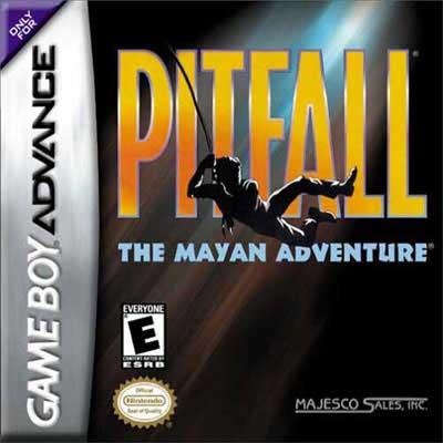 Pitfall Mayan Adventure Nintendo Game Boy Advance