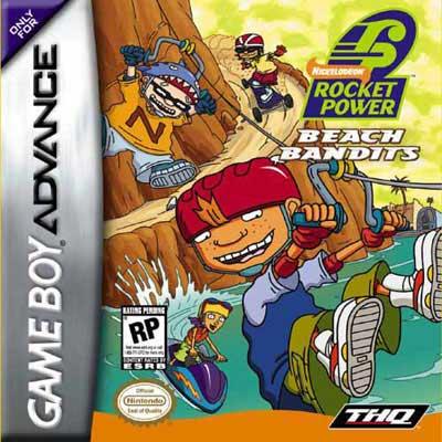 rocket power beach bandits nintendo game boy advance