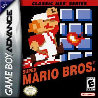 Super Mario Nes Series Nintendo Game Boy Advance