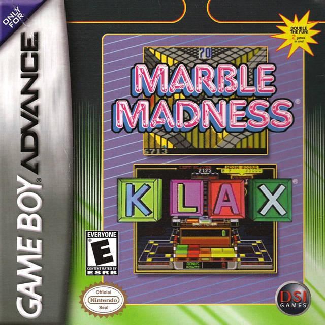 Marble Madness / Klax Nintendo Game Boy Advance