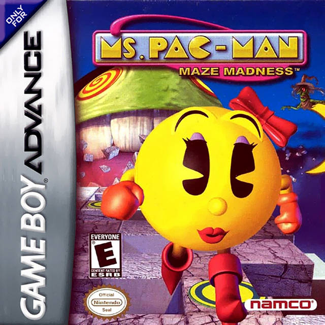 ms pacman ps1
