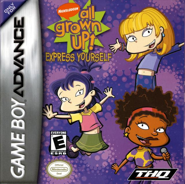 All Grown Up Toys : Nickelodeon all grown up express yourself nintendo game