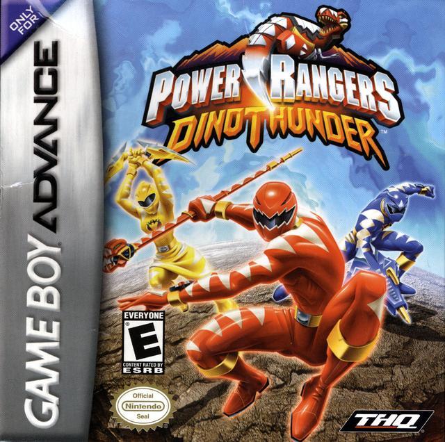 Power Rangers Dino Thunder Nintendo Game Boy Advance