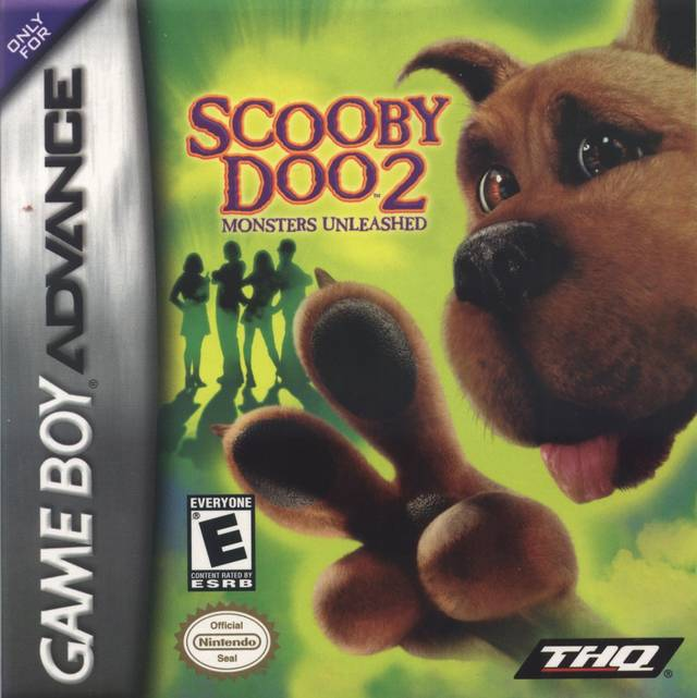 Scooby Doo 2 Monsters Unleashed Nintendo Game Boy Advance