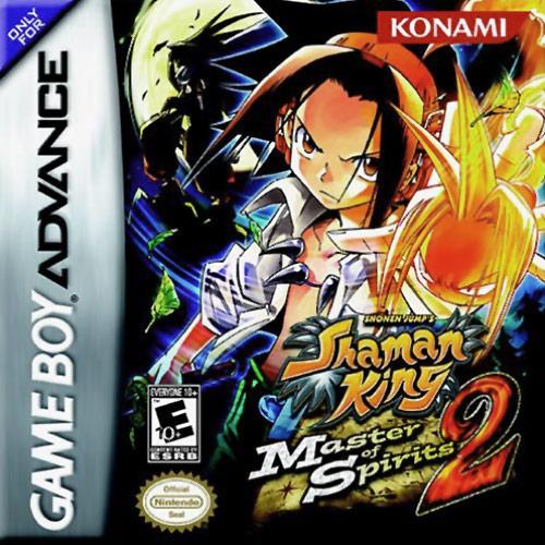 Shaman King Master Of Spirits 2 Nintendo Game Boy Advance