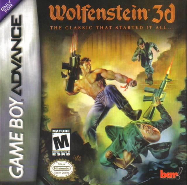 wolfenstein 3d nintendo game boy advance