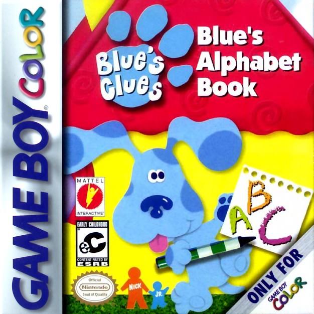 Blue's Clues Alphabet Book Game Boy Color