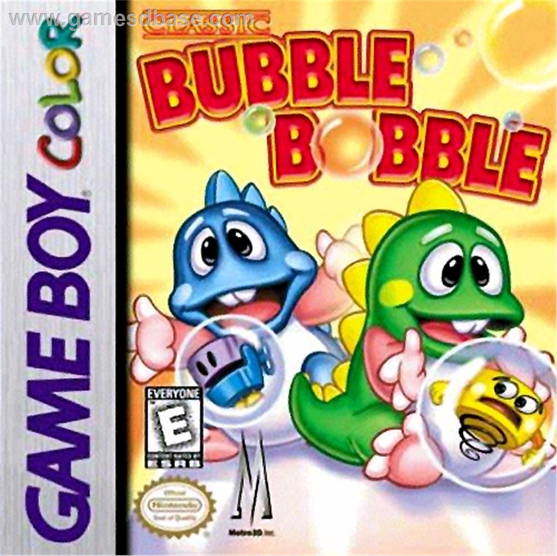 bubble bobble game boy color