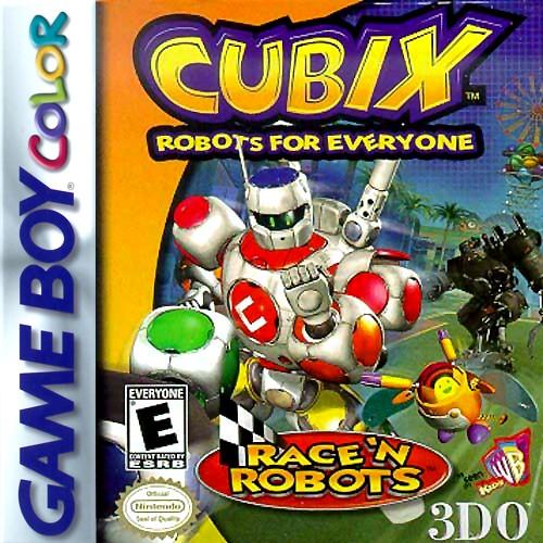 Cubix Robots For Everyone Toys : Cubix robots for everyone race n game boy color
