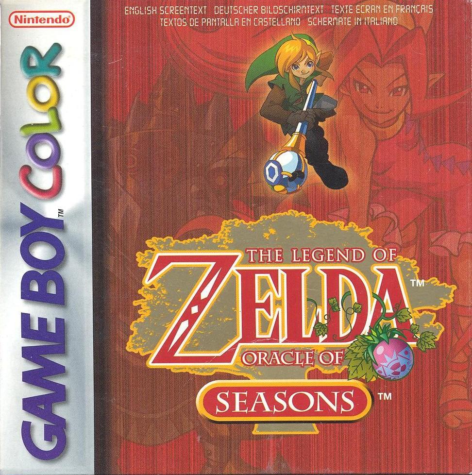 Game boy color legend of zelda - Game Boy Color Horror The Legend Of Zelda Oracle Of Seasons