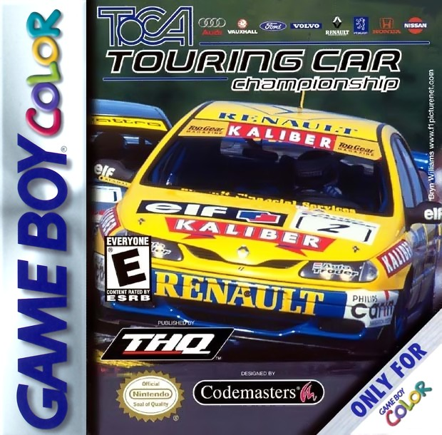 TOCA Touring Car Championship Game Boy Color