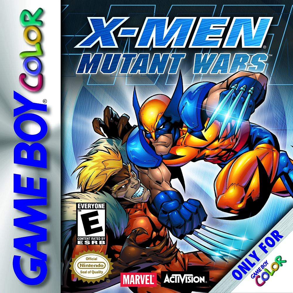 X-Men Mutant Wars Game Boy Color