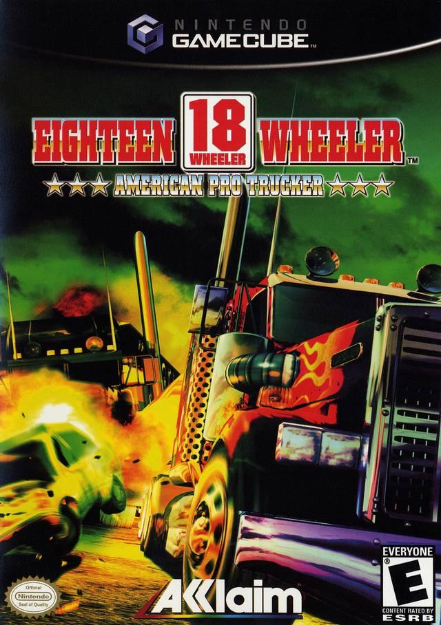 wheeler american pro trucker gamecube game box nintendo file wiki north wikia dolphin strategywiki developer