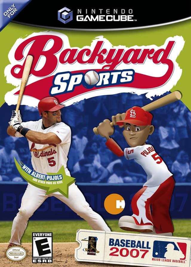 backyard baseball 2007 gamecube game