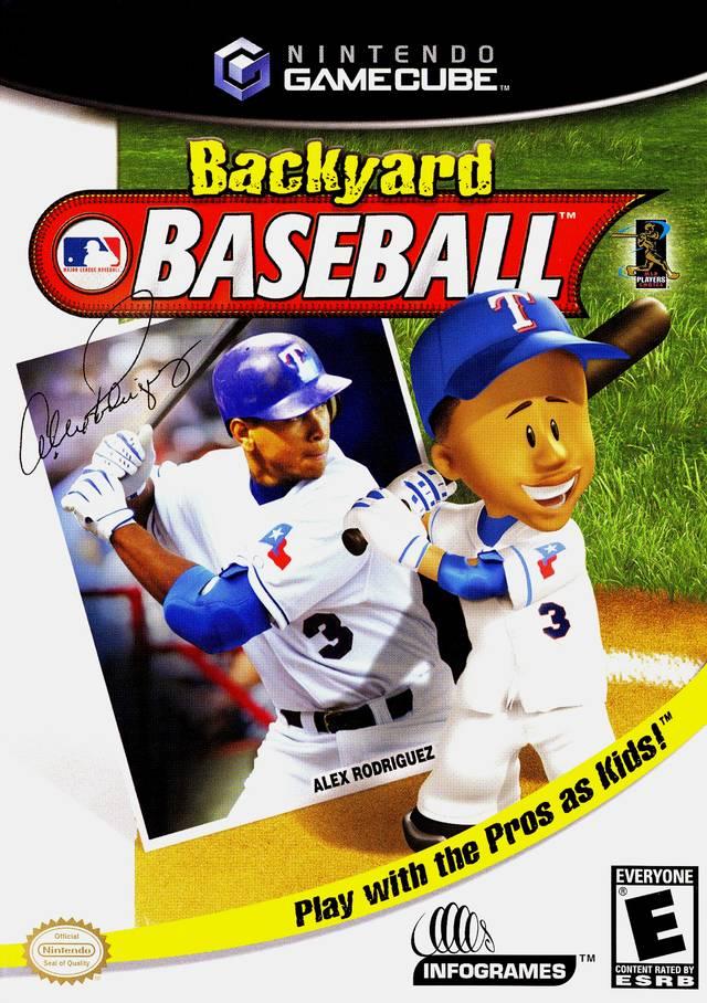 - Backyard Baseball Gamecube Game