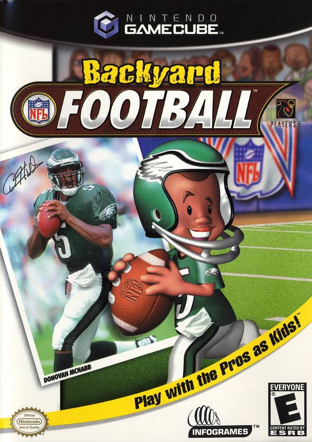 Backyard Football 2004 backyard football gamecube game