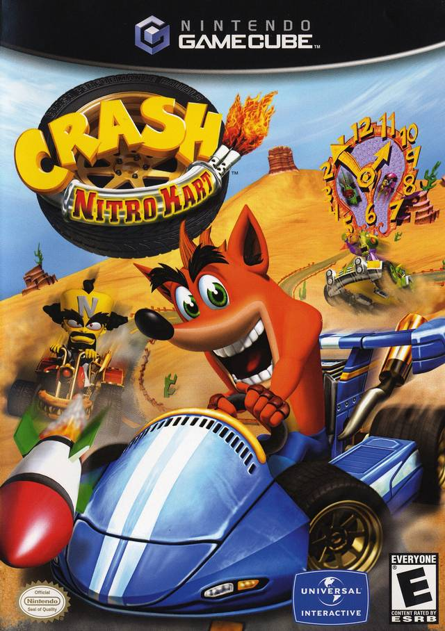 Crash Nitro Cart Gamecube Game
