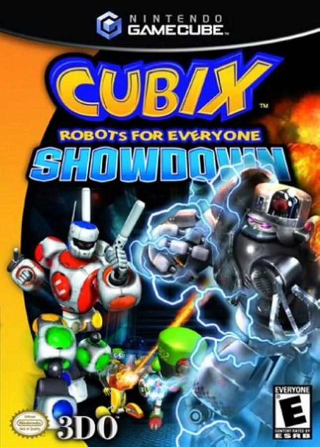 Cubix Robots For Everyone Toys : Cubix robots for everyone showdown gamecube game