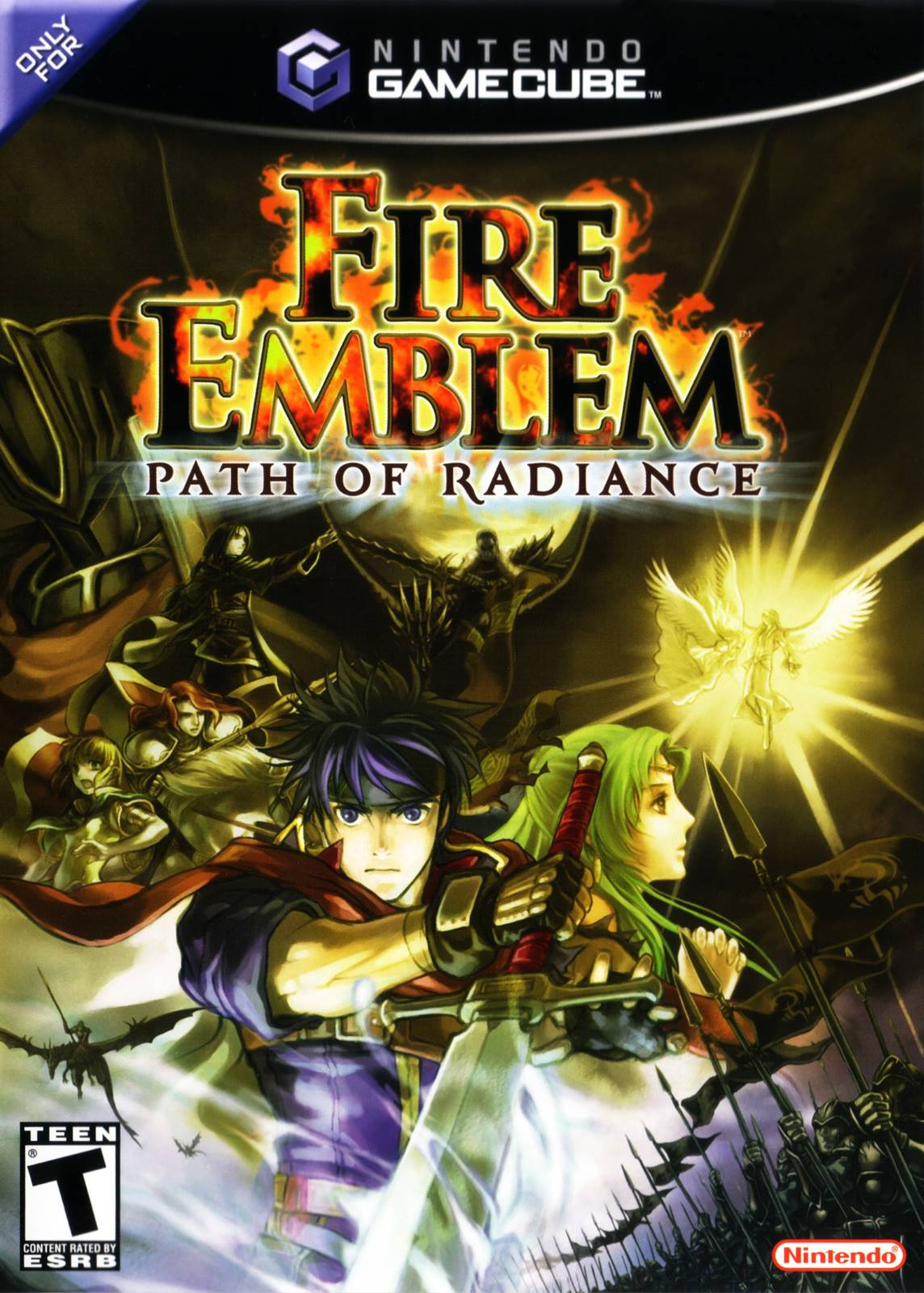 Fire Emblem Path Of Radiance Nintendo Gamecube Game