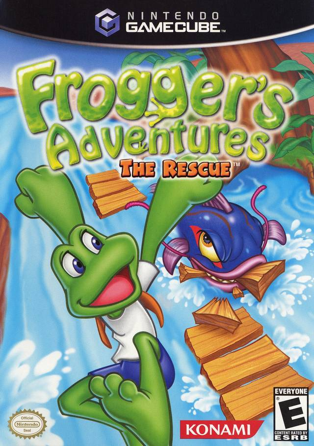 Froggers Adventures The Rescue Gamecube Game