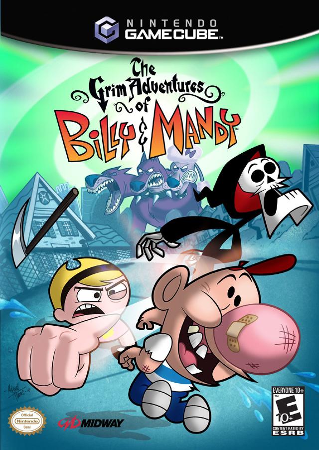 Grim Adventures of Billy & Mandy Gamecube Game