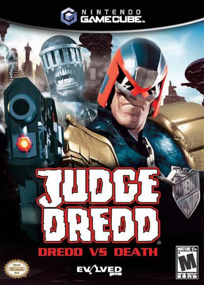 judge dredd dredd vs death gamecube game
