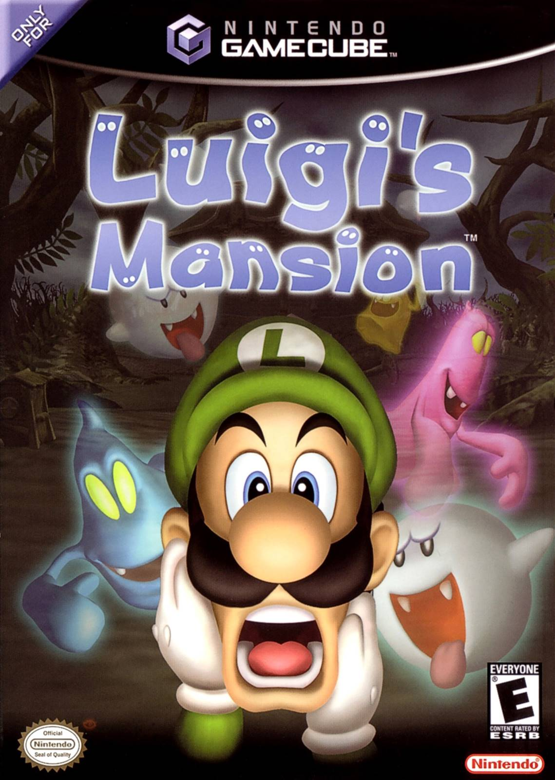 """Résultat de recherche d'images pour """"luigi's mansion gamecube"""""""