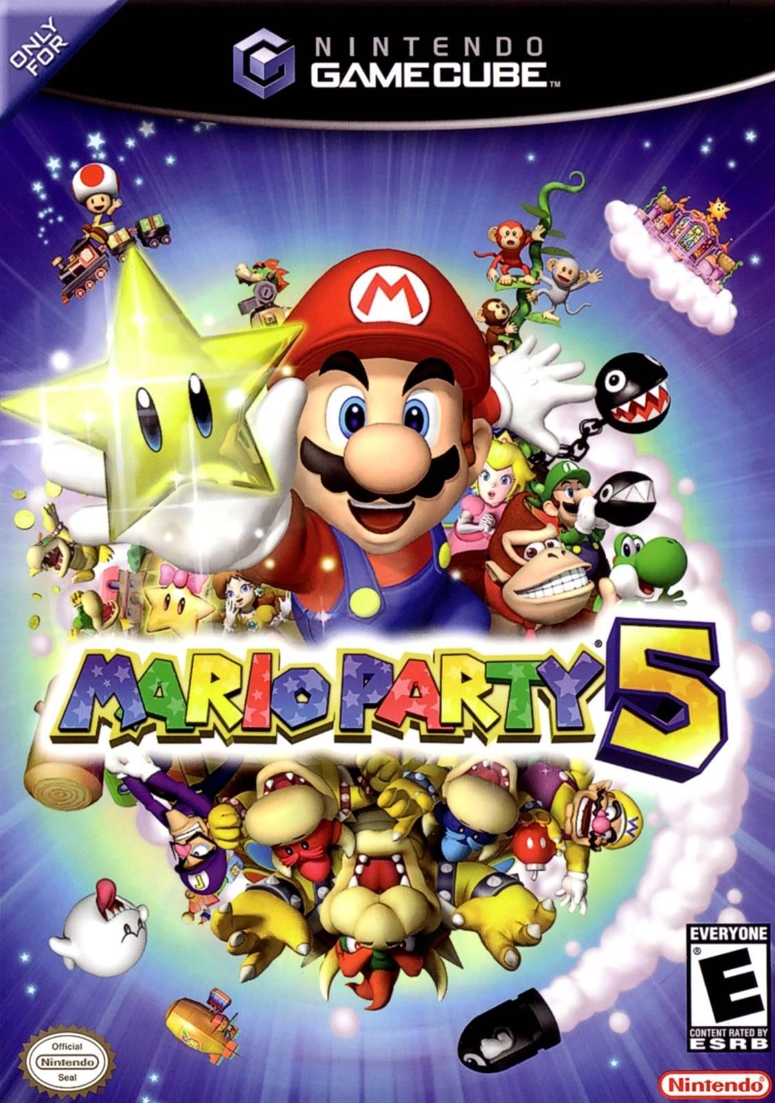 Mario Party 5 Gamecube Game