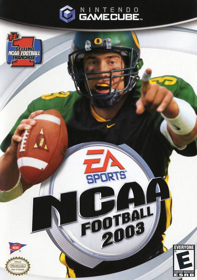 Ncaa Football 2003 Gamecube Game