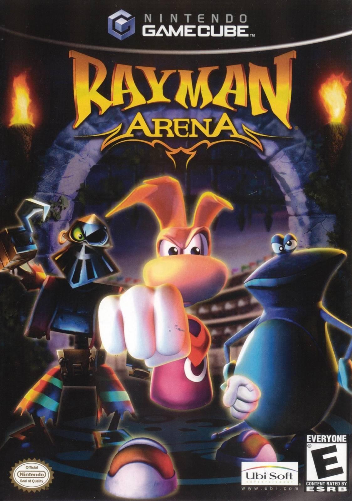 rayman arena gamecube game