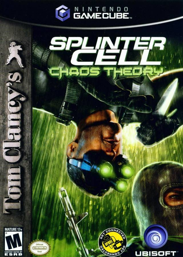 Splinter Cell Chaos Theory Gamecube Game