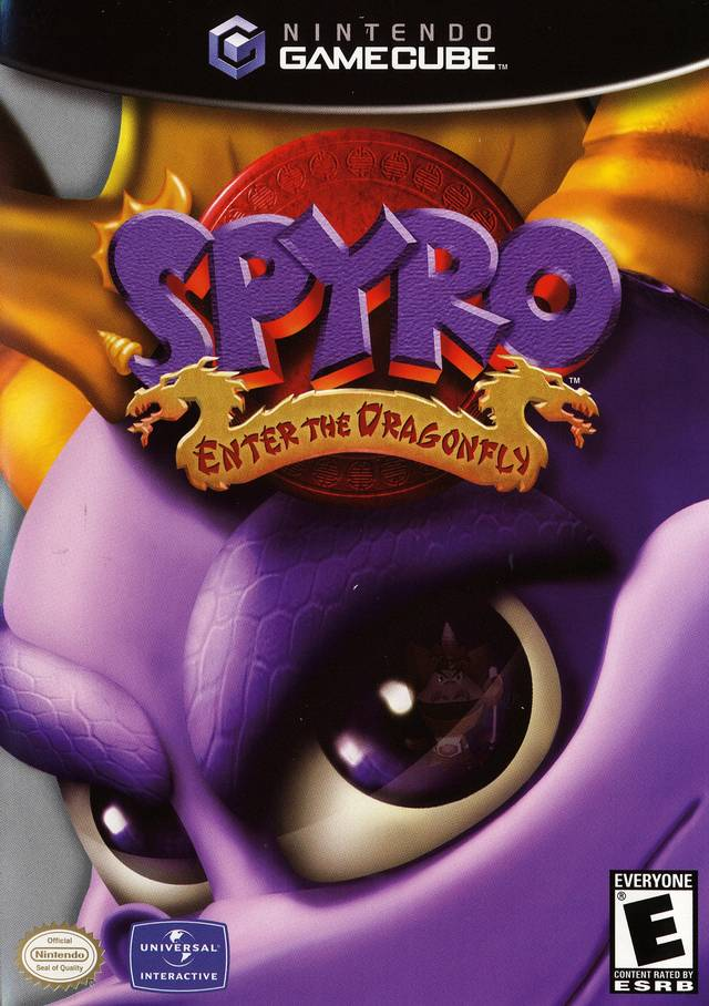 spyro enter the dragonfly gc
