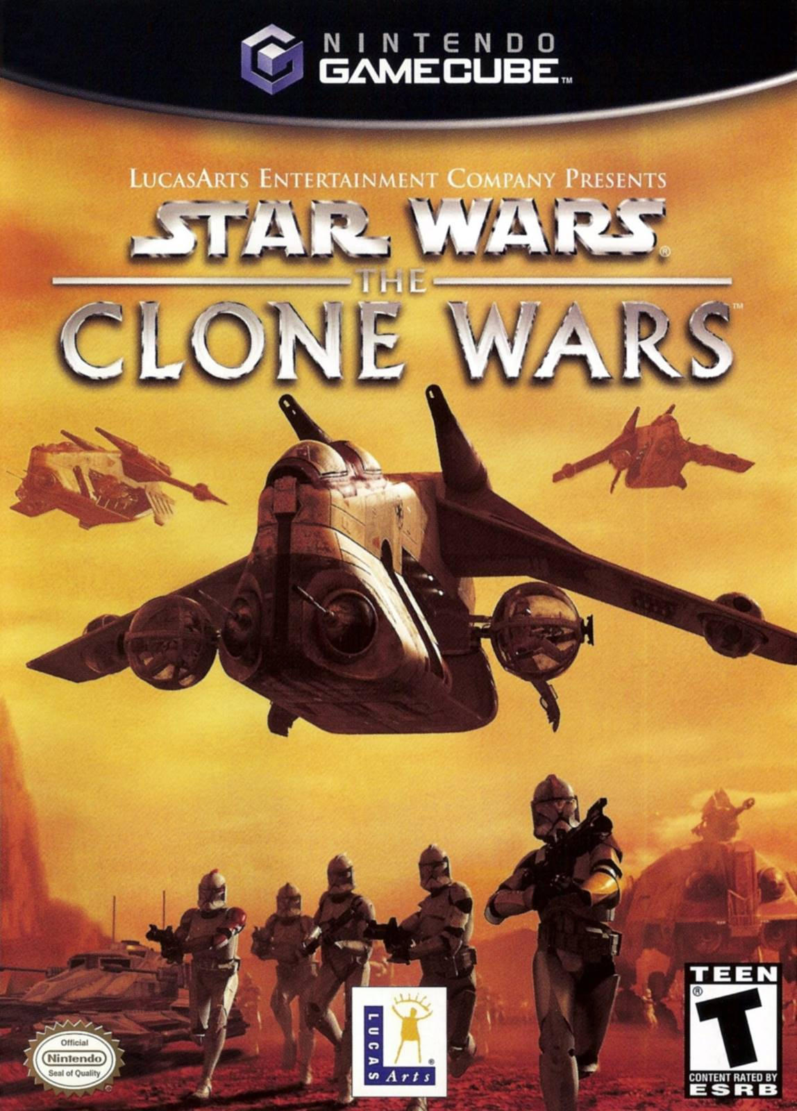 Star Wars Clone Wars Gamecube Game