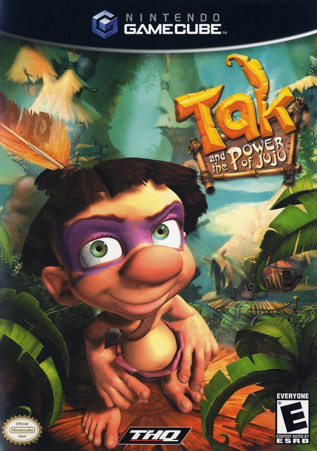Tak And The Power Of Juju Gamecube Game