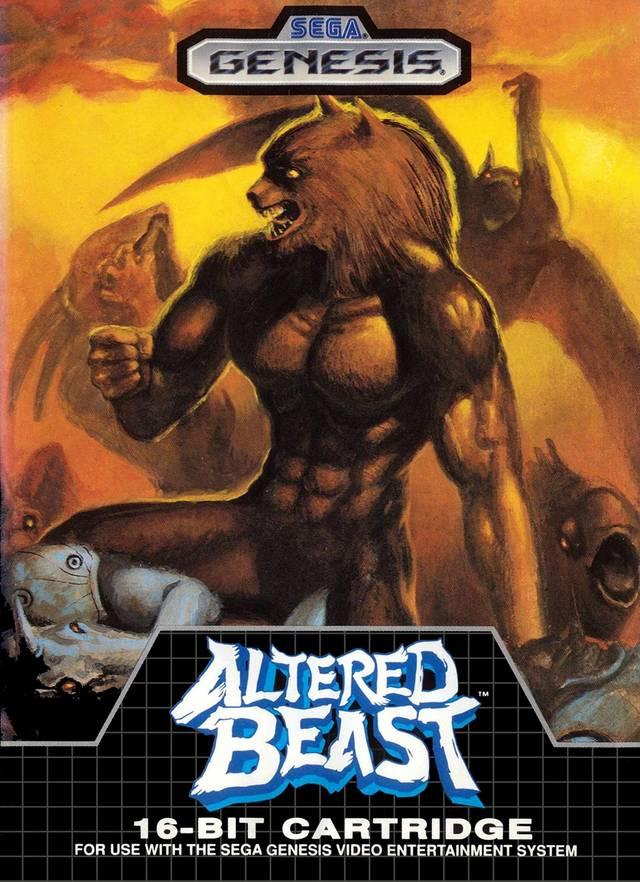 Altered Beast Sega Genesis