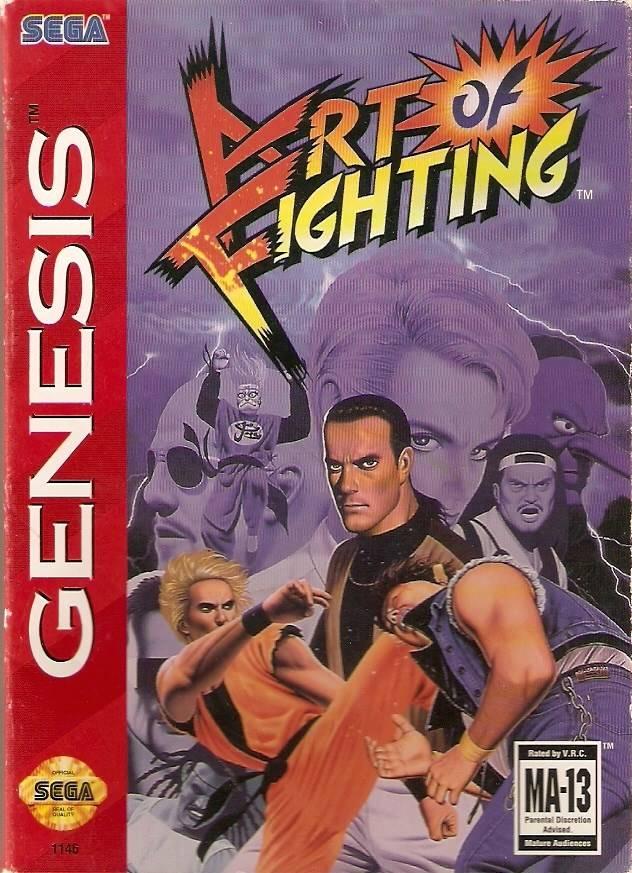 Art of Fighting Sega Genesis