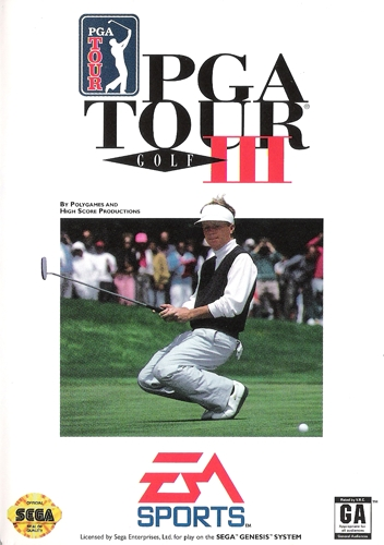 pga tour golf 3 sega genesis