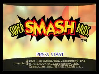 nintendo 64 super smash bros for sale