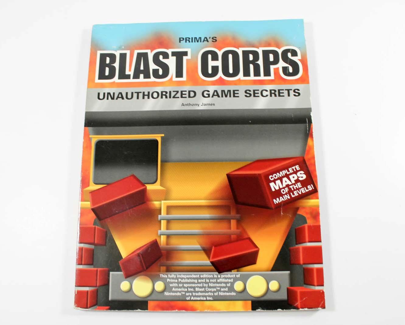Blast Corps Unauthorizes Game Secrets (Prima Games)