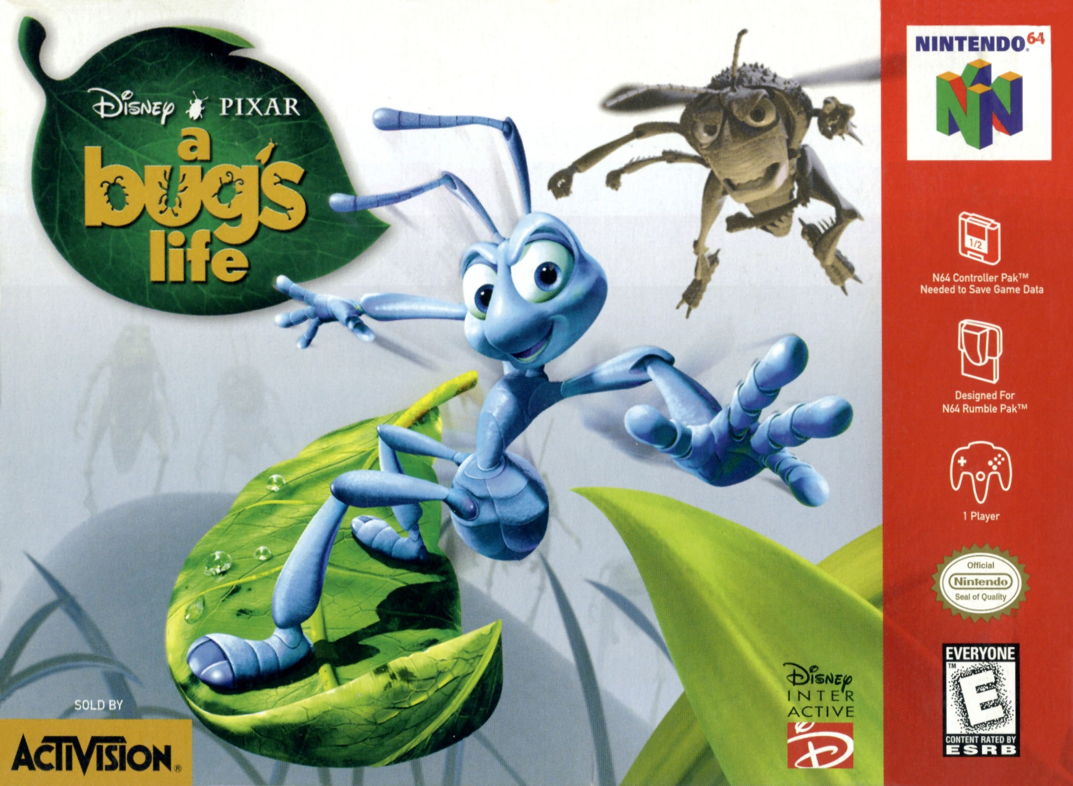 bugs life A bug's life is a fantastic piece of animation and storytelling, and is just pure imagination for any kid pixar has lived up to the fantastic toy story with their second film and it truly lives.