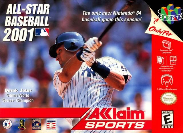 All Star Baseball 2001 Nintendo 64 Game