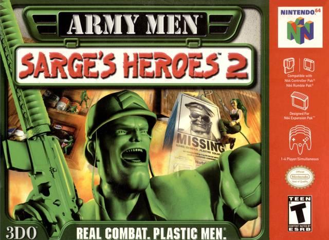 army sarges heroes 2