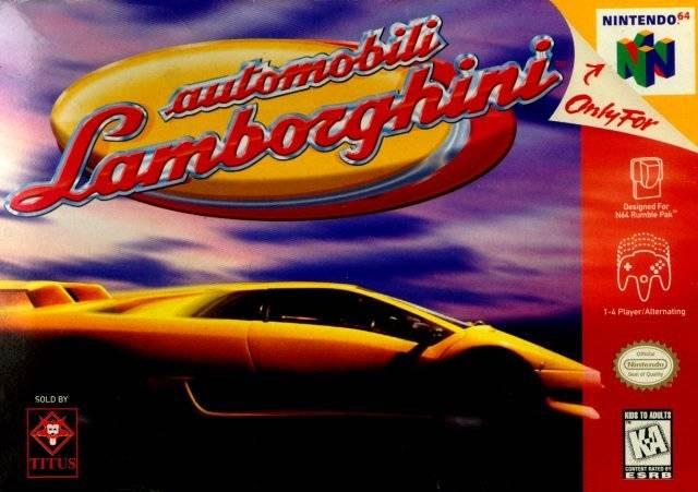 Automobili Lamborghini Nintendo 64 Game
