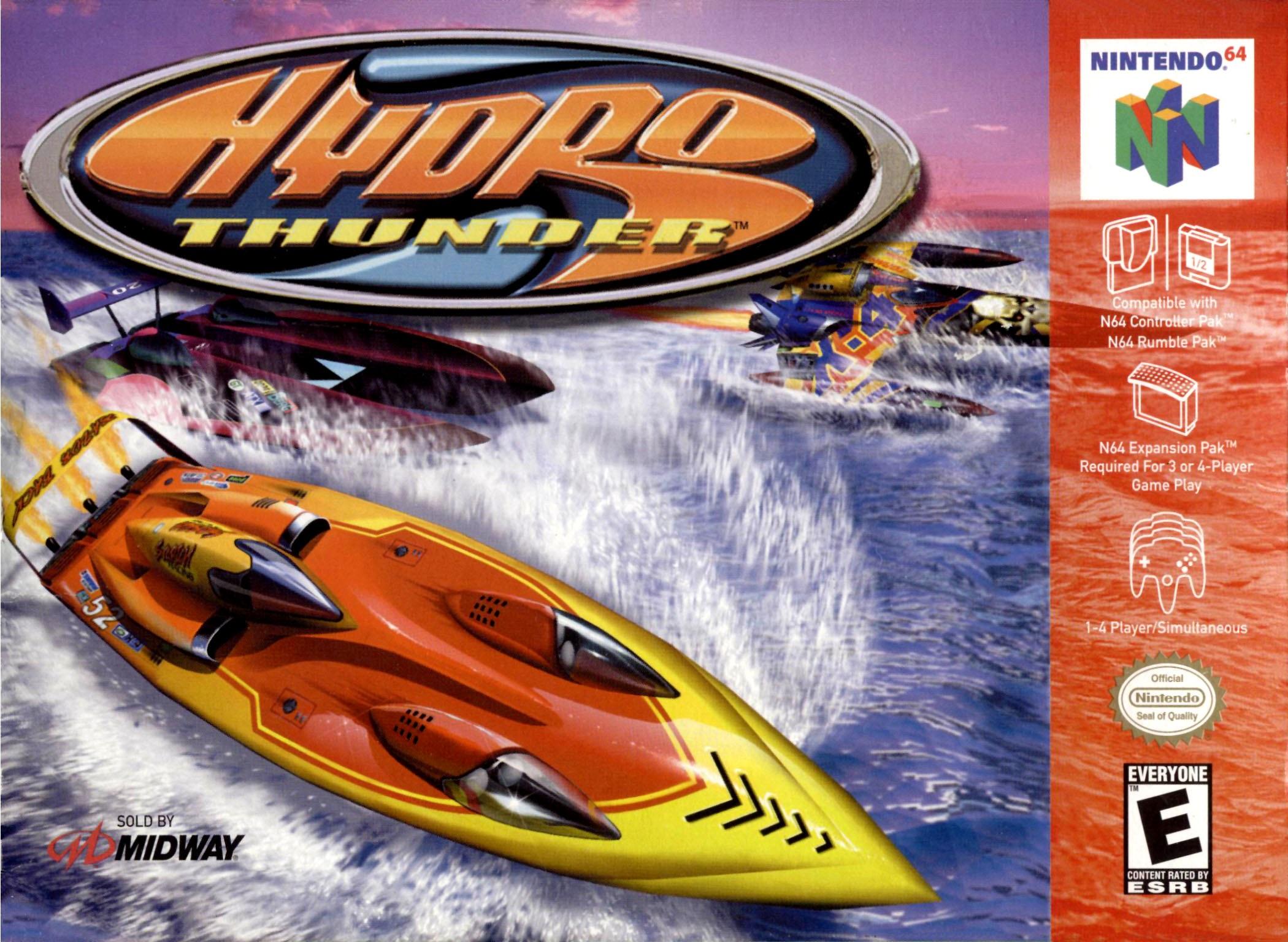 Hydro Thunder Nintendo 64 Game